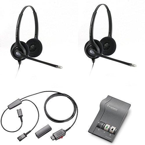 (Plantronics Headset Training Bundle | Use for Coaching, Supervising, Training, Monitoring (Stereo-Advanced))