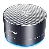 Vtin Altavoz Inalámbrico Bluetooth4.1, Altavoz de Llamada Manos Libres Portátil con Tarjeta TF, Micrófono Incorporado, USB y Cable Combinado de Audio para iPhone, Android, Windows, Tableta, Ordenador Portátil y más