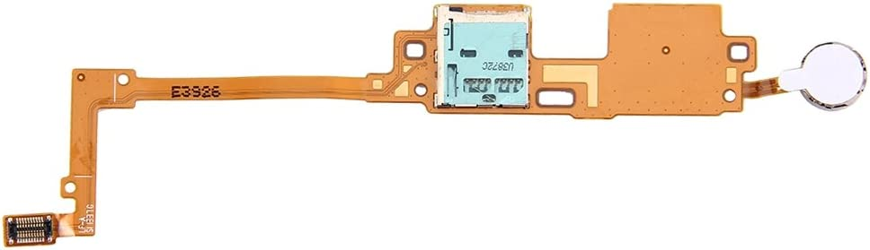 Hyx Card Socket Parts for Phone SD Card Reader Contact Flex Cable for Galaxy Note 10.1 2014 Edition // P600
