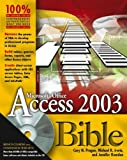 Access 2003 Bible, Cary N. Prague and Michael R. Irwin, 0764539868