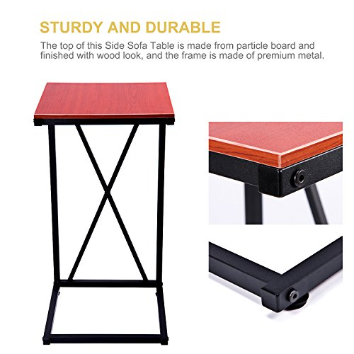 home, kitchen, furniture, living room furniture, tables,  coffee tables 1 picture MaidMAX Snack Table, 25-Inch-High C-Shaped promotion