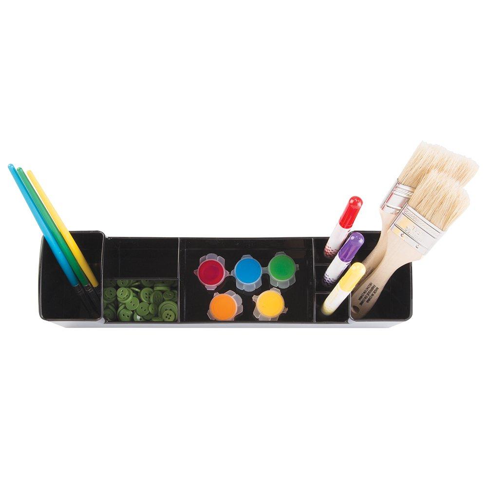 Amazon.com: InterDesign Med+ Organizador de escritorio con 8 compartimentos | Sistema de organización con portalápices | Organizadores de oficina y baño ...