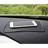 Dvin 7x5 inch Platinum Level Anti-Slip Sticky pad, Adhesive dashboards for Holding Keys, GPS, mobiles, Sunglasses, Coins…