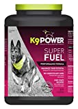 K9-Power Super Fuel - Energy and Muscle Nutritional Supplement for Active Dogs - 4 Pound