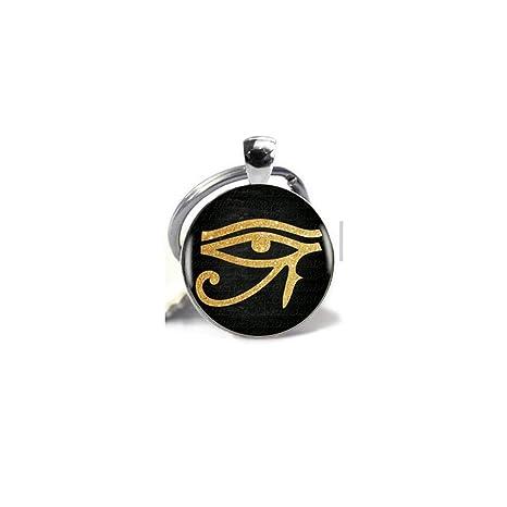 Amazon.com: Colgante con símbolo de ojo de Horo de Ra ...