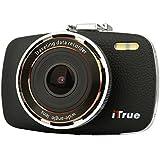 ITrue X3 Dash Cam,2.7Inch LCD,1080P,170 degree Angle,Night Vision and 8GB Card [並行輸入品]