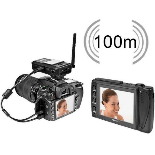Aputure Gigtube Wireless GW1N Live View Angle Finder with Shutter Cable Release for Nikon D300, D700