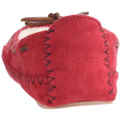 Scholl F22170 EMBRACE, Damen Hausschuhe Rot (Red)