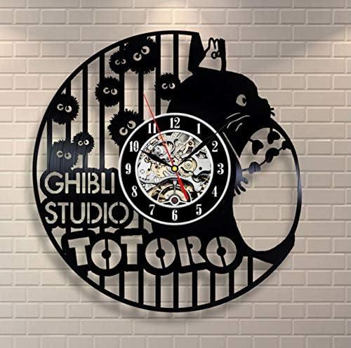STUDIO GHIBLI ANIME /_ exclusif horloge murale en Vinyle Record /_ Cadeau