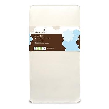 Amazon Com Naturepedic No Compromise Organic Cotton Classic Crib