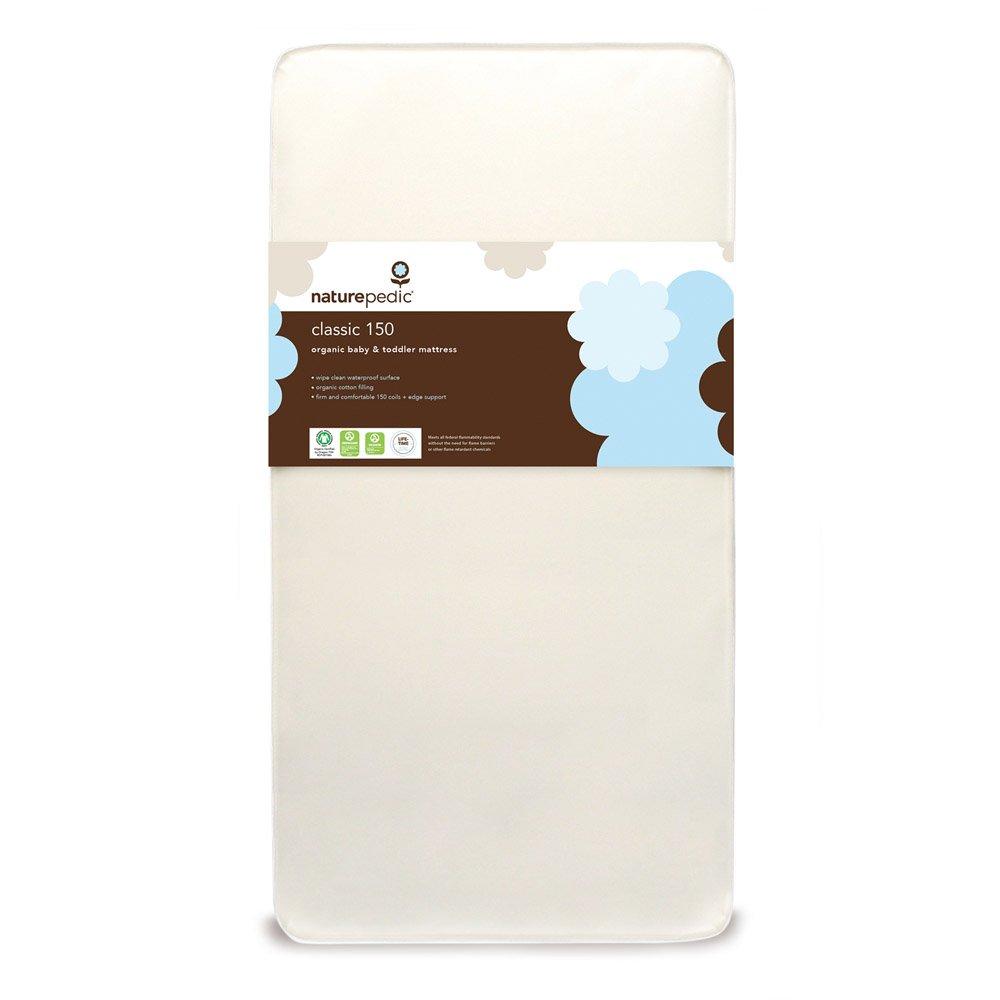 "Naturepedic No Compromise Organic Cotton Classic Crib Mattress - 28"" x 52"" x 6"""