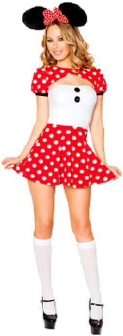 GGT Boutique - Disfraz de Mickey Mouse Sexy para Mujer: Amazon.es ...