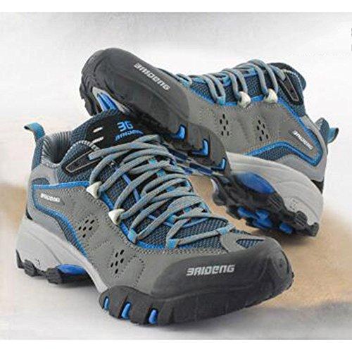 Zapatos Zapatos Impermeables Libre Deportivos Senderismo De Señoras Aire Caminar Zapatos Azul para Senderismo Mujeres Equitación Zapatos De Transpirables Al wFdqnnXC