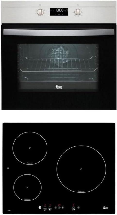 Teka conjunto horno ho 625 inox + vitro ib6130 41910104: Amazon.es: Hogar