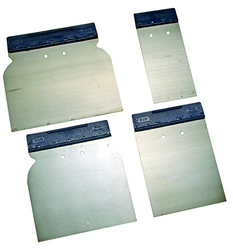 Kraftmann Japan Spachtel Set, Federbandstahl, 50 / 80 / 100 / 120 mm, 4-teilig, 1636