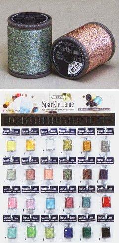 【フジックス】装飾手芸用 スパークルラメ 24色各3個 ボードセット   B001OD6QNW