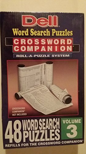 Dell Crossword Companion Roll-a-puzzle Refills - Word Search Puzzles Volume ()