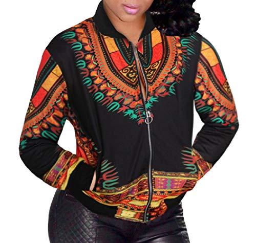 Xinheo 3 Africano Size Dashiki Annata Donne Rivestimento Delle Plus Blouson TzRtw8Ux