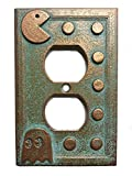 Pac-Man Outlet Cover (Aged Patina)