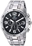 Casio Men's 'Edifice' Quartz Stainless Steel Casual Watch, Color:Silver-Toned (Model: EFR538D-1AV)