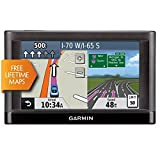 Garmin Nuvi 55LM 5″ Touchscreen Car Sat Navigation GPS w/Lifetime Maps 0119-801 (Certified Refurbished)