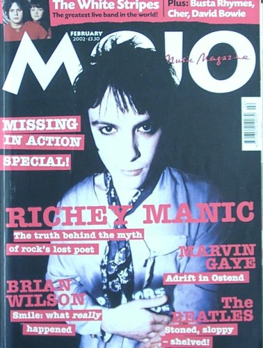 Mojo Magazine Issue 99 (February, 2002) (Richey Edwards cover) pdf epub