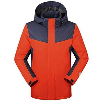 10fa92326b5 liuxi Heated Jacket, USB Charge Electric Heated Body Warmer Down Gilet,  Rechargeable Infrared Thermal Vest 3 Heat Settings, Orange, XXX-Large:  Amazon.co.uk: ...
