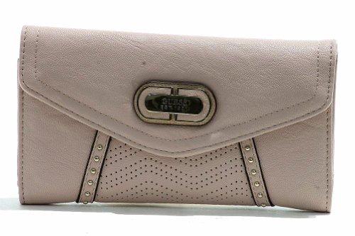 Guess Women's Slim Clutch VP449651 Corinna SLG Wallet (Rose)
