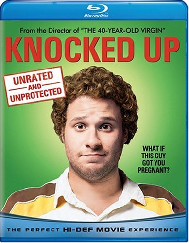 Blu-ray : Knocked Up (Unrated Version, Rated Version, , Dubbed, Dolby)