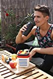 Neolid Lunchbox - Unique, Innovative, Stylish, Leak-Proof, Lidless Design - BPA Free (BOX Marcel)