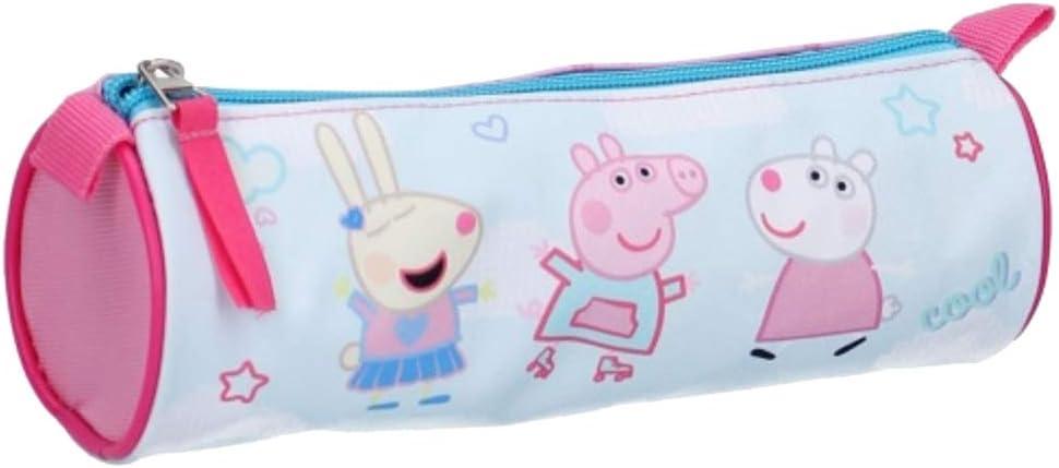 Equipaje (Bolsos, Mochilas, Estuches, Paraguas). Peppa Pig Fantasía Trousse Peppa Pig 007-0724 20 * 7cm: Amazon.es: Equipaje