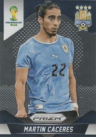 Panini Prizm World Cup Brazil 2014 Base Card # 190 Martin Caceres Uruguay