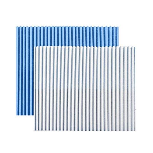 Daikin Compatible Air Purifier Replacement Filters KAC017A4E A4 5pcs F//S w//Track