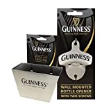 Guinness - Wall Mounted Bottle Opener and Bottle Cap Catcher Combo Pack