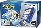 Nintendo 2DS Blau Transparent + Pokémon Blaue Edition, Konsole + Nintendo 2DS-Spiel