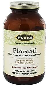 FloraSil Plant Based Silica 180 Capsules