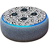 MightySkins Skin for Amazon Echo Dot (3rd Gen) - Laughing Skulls | Protective, Durable, and Unique Vinyl Decal wrap Cover | Easy to Apply, Remove, and Change Styles | Made in The USA
