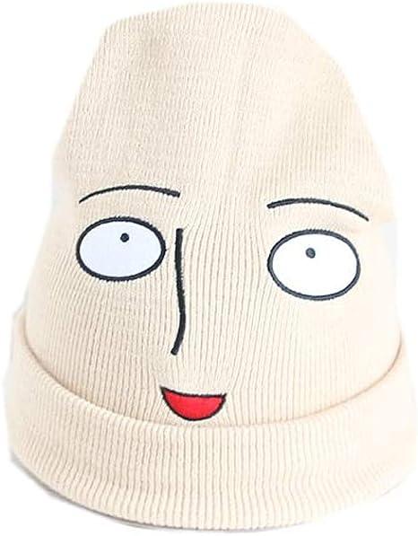 Amazon Co Jp ワンパンマン 埼玉 サイタマ ウールの帽子 ニット帽 ヘッドギア はげ頭 おかしい 面白い 可愛い おもしろい パーソナライズ アニメ 漫画 二次元 周边 ホビー