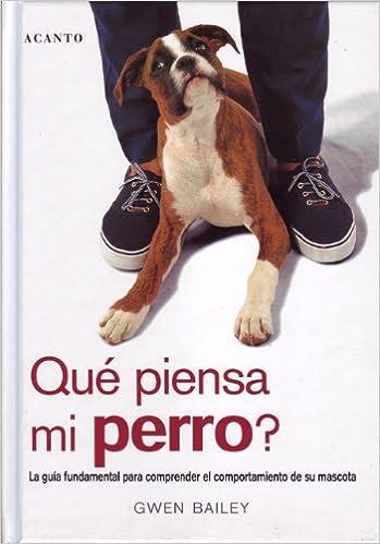 ¿Qué piensa mi perro?: Amazon.es: Gwen Bailey, Gerardo Di Masso: Libros