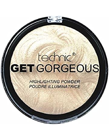 0f9fad1b0 TECHNIC GET GORGEOUS HIGHLIGHTER Shimmer Compact Highlighting Shimmering  Powder by Technic