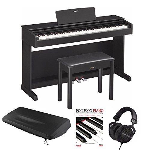 Find Cheap Yamaha YDP143B Digital Piano with Beyerdynami DT990 Headphones and Accessories