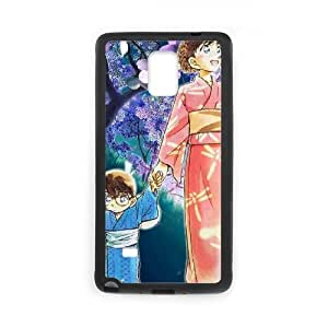 Samsung Galaxy Note 4 Cell Phone Case Covers Black Detective Conan zzs arlx