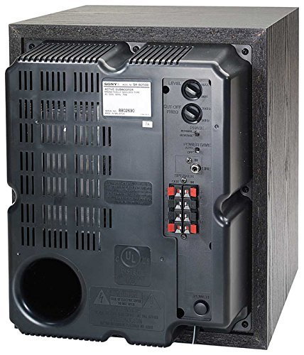 Sony SA-W2500 Performance Line 100 Watt Subwoofer