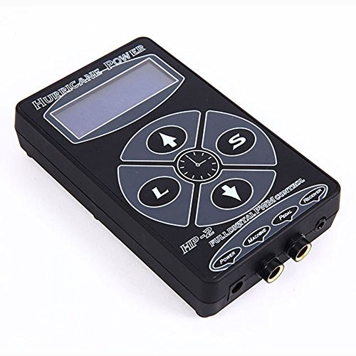 HoriKing Tattoo Supply Digital LCD Tattoo Power Supply Hurricane Stlye Unit Supply