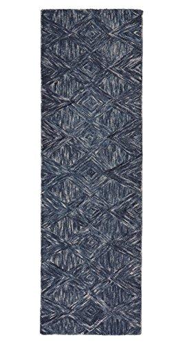 Rivet Motion Patterned Wool Runner, 2'3