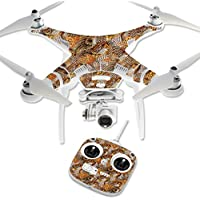 Skin For DJI Phantom 3 Standard – Pheasant Feathers | MightySkins Protective, Durable, and Unique Vinyl Decal wrap cover | Easy To Apply, Remove, and Change Styles | Made in the USA