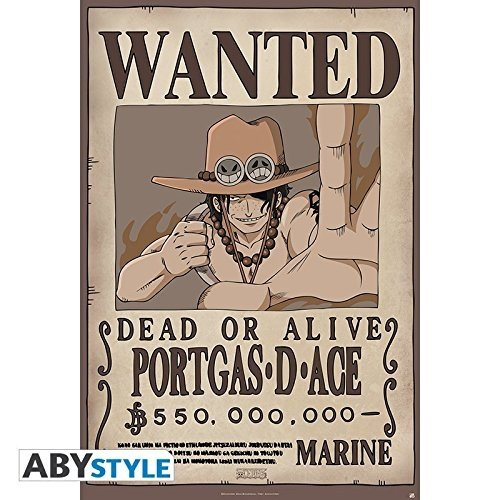 ABYstyle abystyleabydco410 91, 5 x 61 cm Wanted Póster de Ace