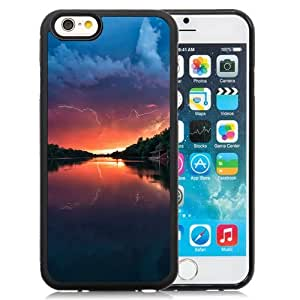Unique TPU Phone Case Sunset Landscapes iPhone 6 4.7 inch Wallpaper