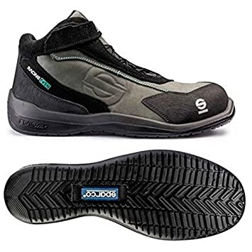 Sparco 0751545GSNR Zapatillas, Gris Oscuro/Negro, 45: Amazon.es: Coche y moto