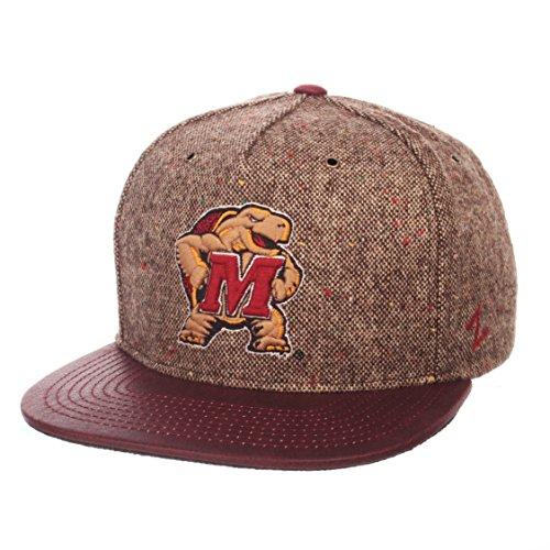 - Zephyr NCAA Maryland Terrapins Adult Men Legend Heritage Collection Hat, Adjustable, Tweed